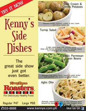 Kenny Rogers Roasters Pasay Findshare Menu Best Dishes